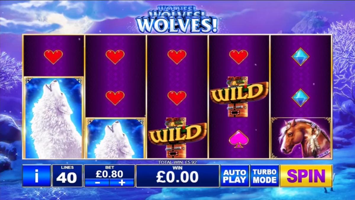 wolves wolves wolves slot